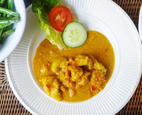 Indonesische ajam met rijst