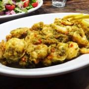gamba's met curryboter
