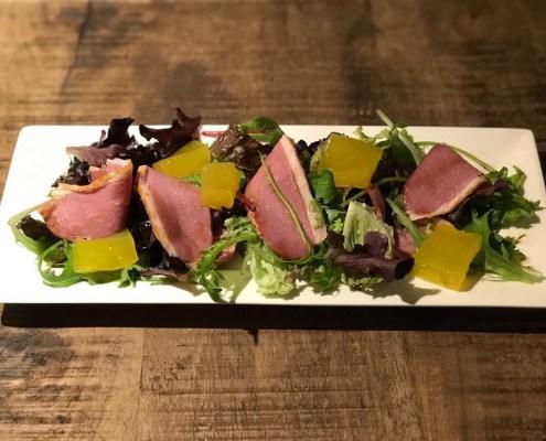 Eendenborst salade