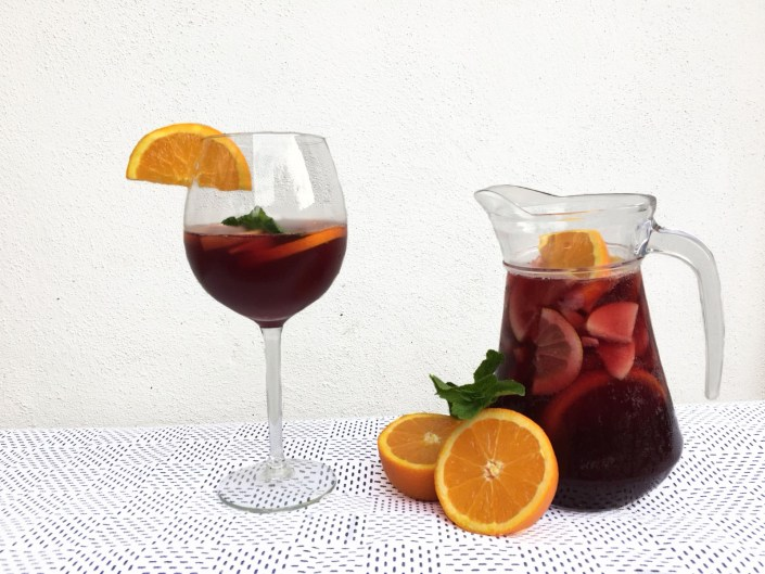 fruitige sangria met Licor 43