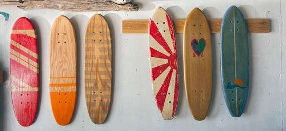primeros skateboards