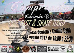 Alicante – Campeonato Karimba 19 Agosto 2017