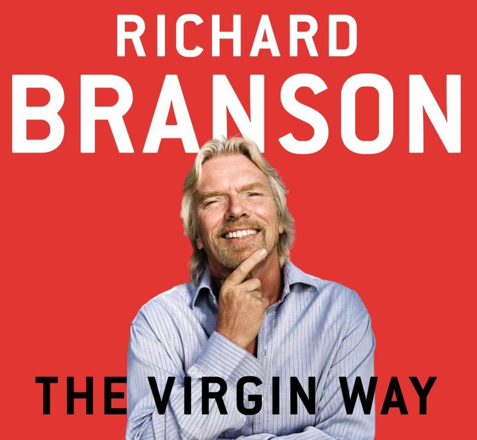 """Portada del libro """"El Método Virgin"""", de Richard Branson."""