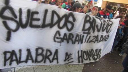 Huelga de trabajadores chilenos