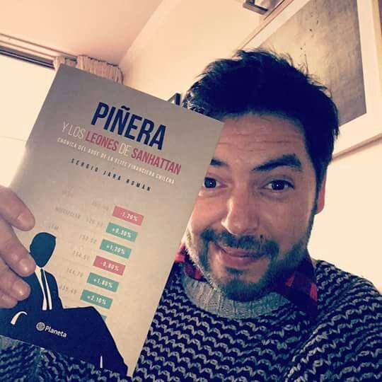 """Sergio Jara Román y su libro """"Piñera y los leones de Sanhattan"""""""