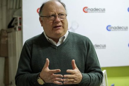 Hernán Calderón, presidente de Conadecus