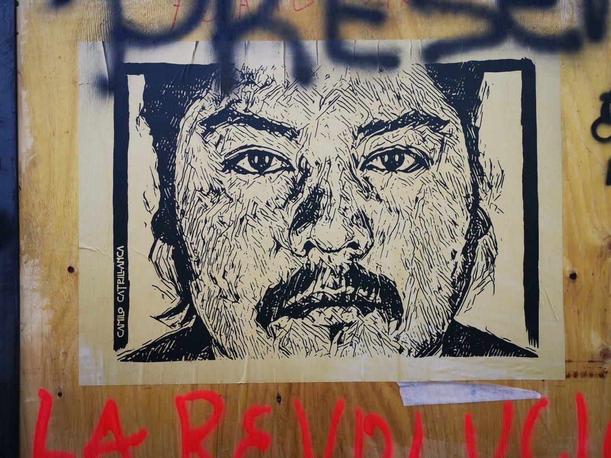 Conmemoraciones a un año de la muerte de Camilo Catrillanca