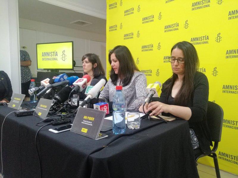 Ana Piquer directora de Amnistía en Chile
