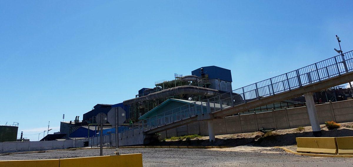 Refinería y fundición de La Ventanas, Codelco