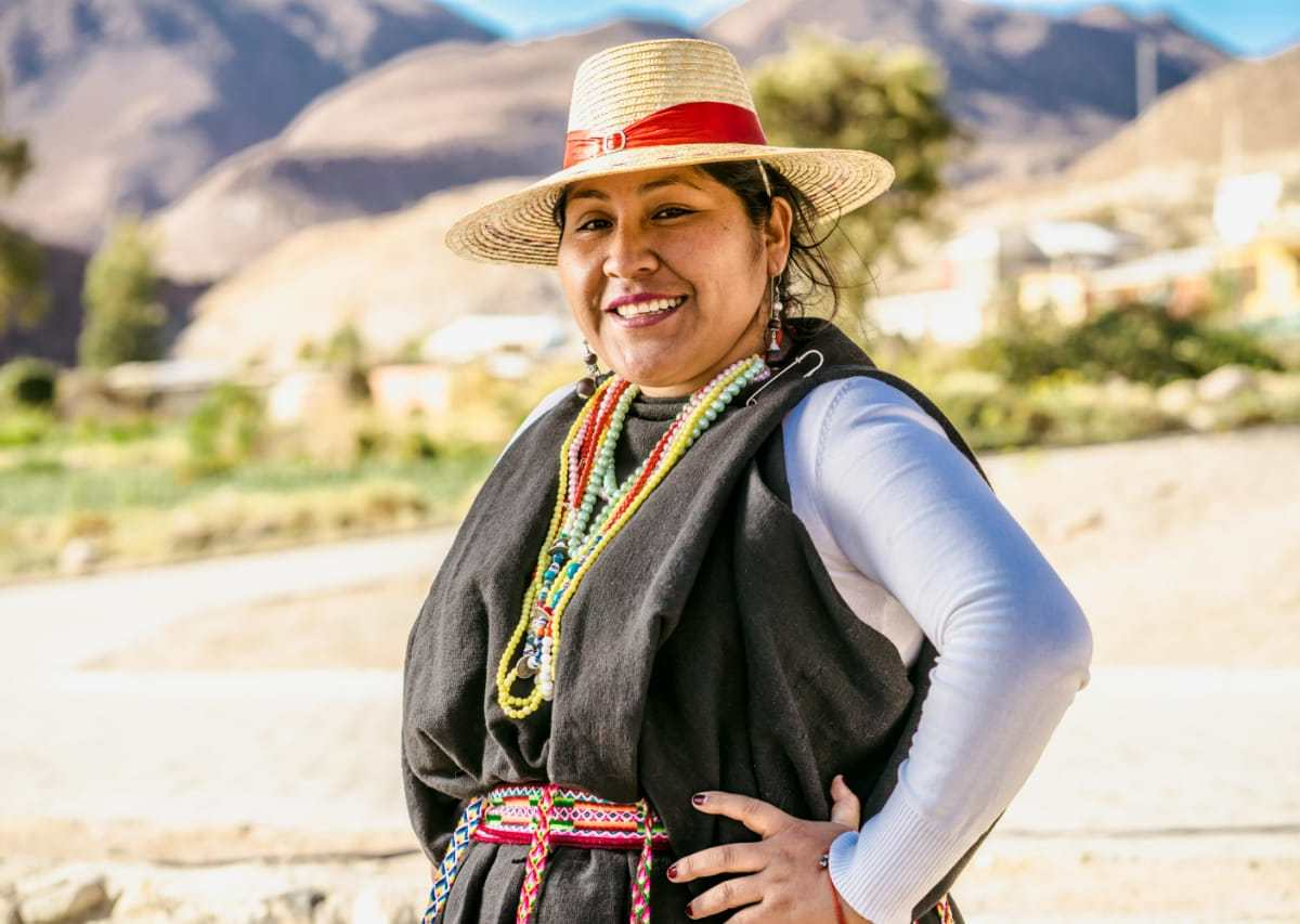 Palmenia Mamani activista Aymara