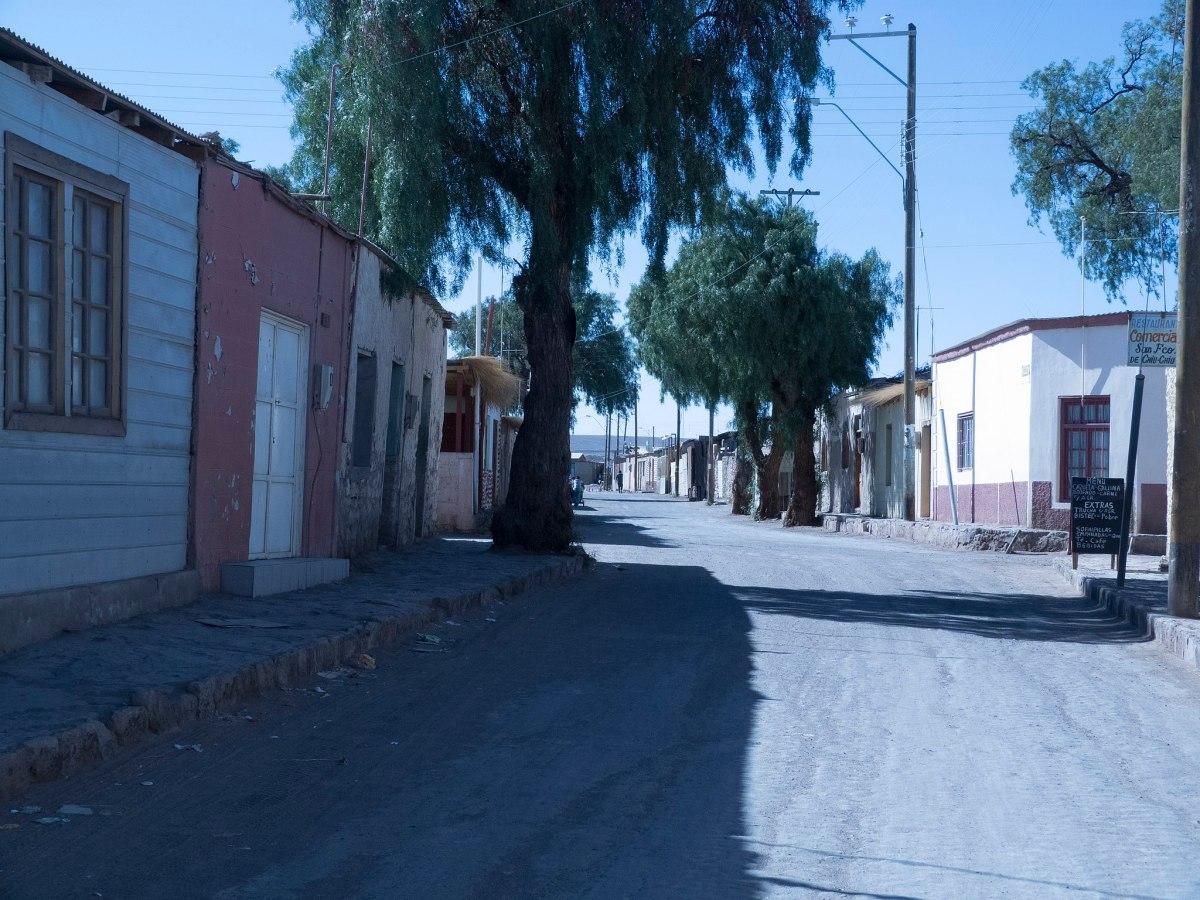 Pueblo de San Francisco de Chiu Chiu - Casas en Chiu Chiu, calle Esmeralda