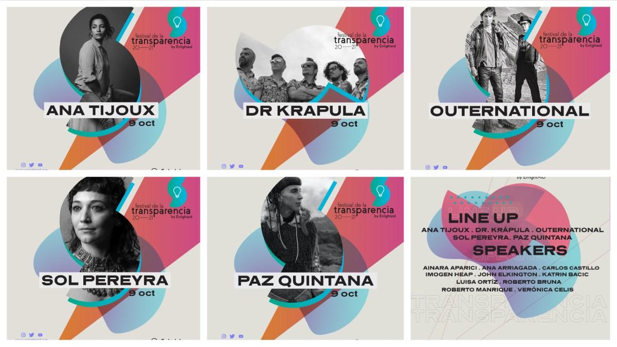 Festival por la Transparencia de EnlightAID