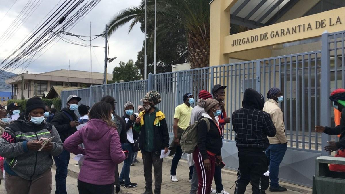 Inmigrantes Haití