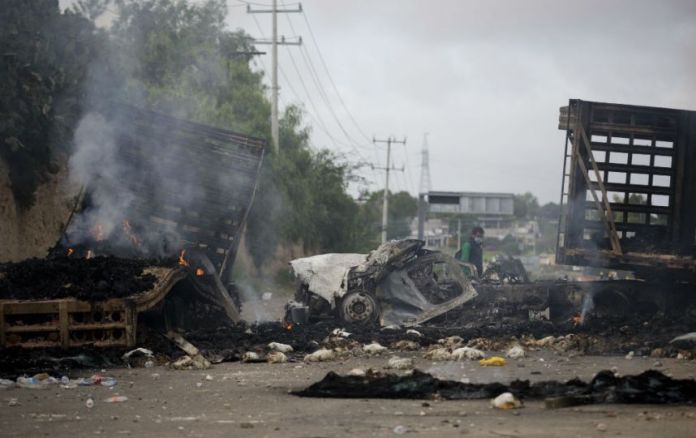 Horas de terror en Nochixtlán