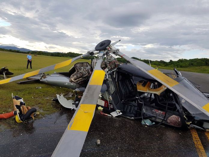 helicoptero accidentado. 2