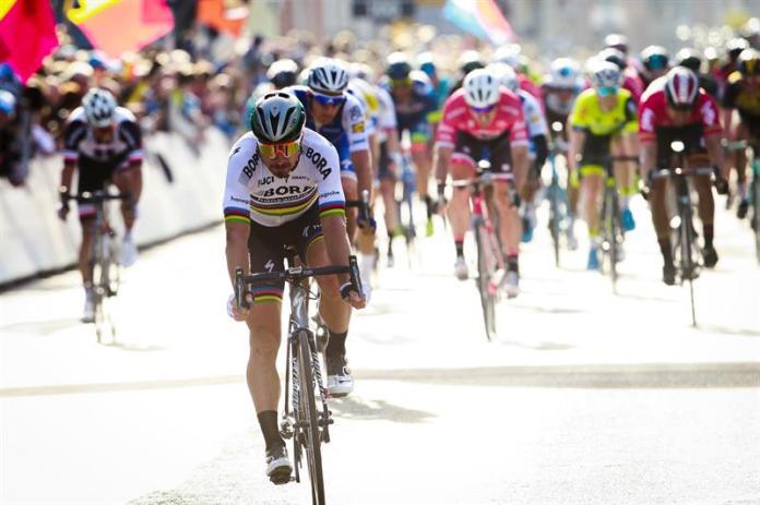 El ciclista eslovaco Peter Sagan