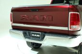 2017 Ram Laramie Limited new body-color tailgate badge