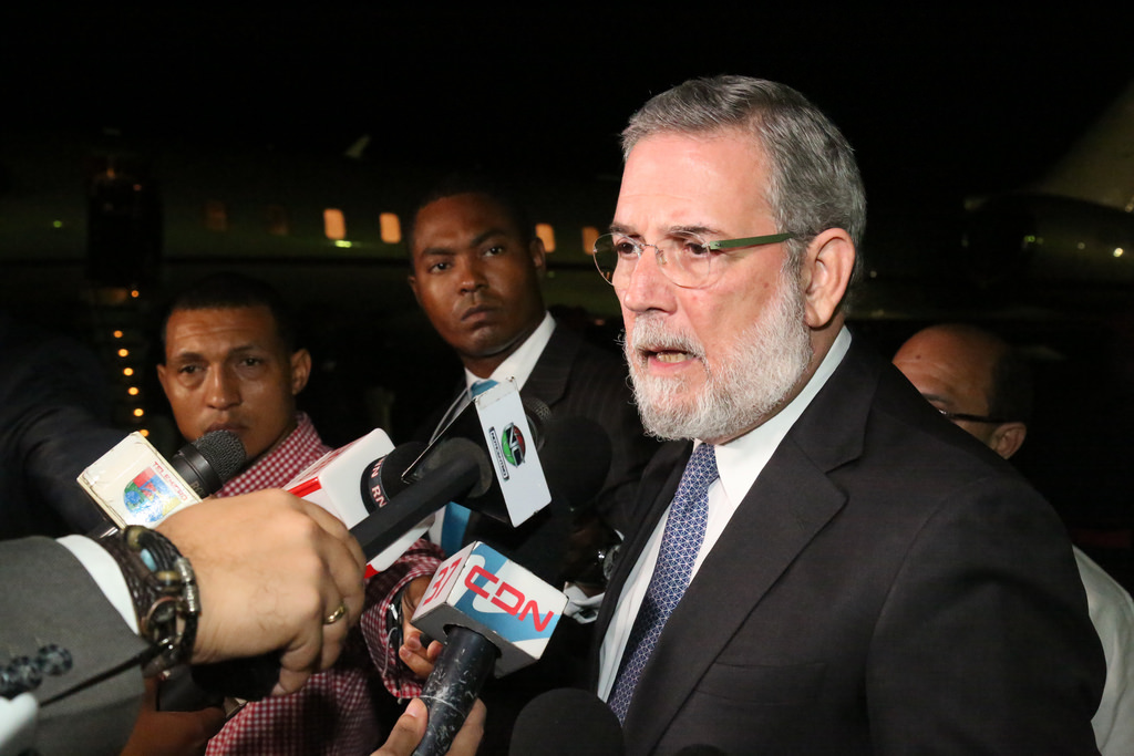 Presidente Medina llega a NY para participar en asamblea ONU