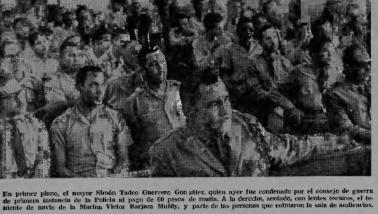 TADEO GUERRERO, CONDENADO POR PROVOCAR ABORTO, 1964