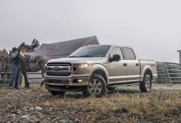 All-new 3.3-liter V6 delivers even more power, torque and better EPA-estimated gas mileage than the previous 3.5-liter V6, further reinforcing how Ford F-150's light-weighting strategy enables customers to get more done with two fewer cylinders