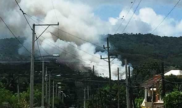 Haitianos son acusados de provocar fuego vertedero Guazumal