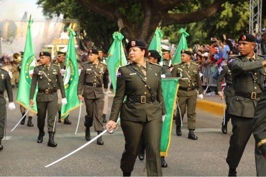 Desfile militar y escolar con motivo 174 aniversario Batalla de Santiago 30 de Marzo (1)