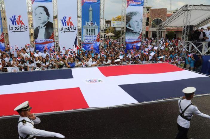 Desfile militar y escolar con motivo 174 aniversario Batalla de Santiago 30 de Marzo (3)