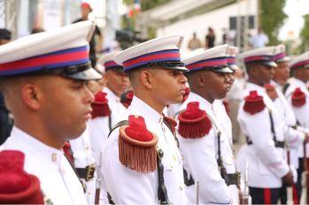 Desfile militar y escolar con motivo 174 aniversario Batalla de Santiago 30 de Marzo