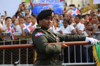 Desfile militar y escolar con motivo 174 aniversario Batalla de Santiago 30 de Marzo (8)