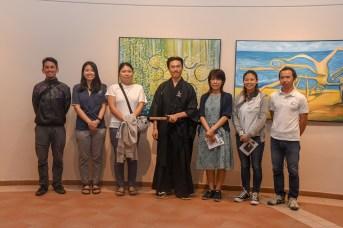 Representantes y allegados de la Embajada de Japón en República Dominicana