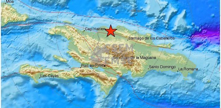 Dos sismos se registraron la madrugada de hoy en Montecristi