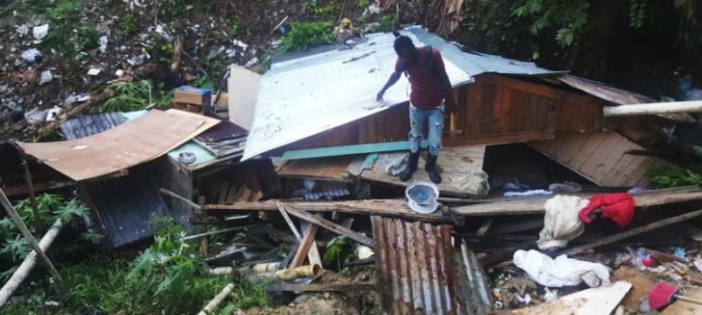 Haitianos ocupan cañadas de Santiago