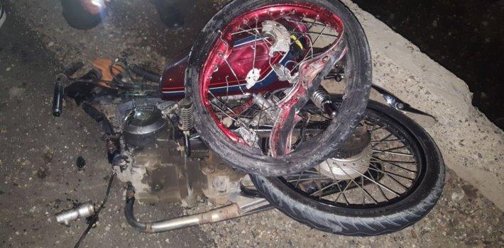 accidente motocicleta