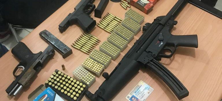 Ocupan armas de distintos calibre en Licey al Medio