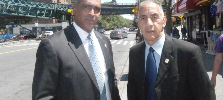 Juan Espinal y Jeffrey Pérez