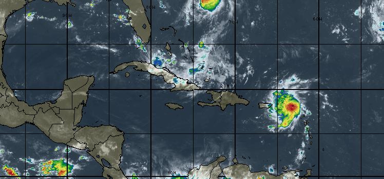 Dorian llega a la categoría de huracán 1