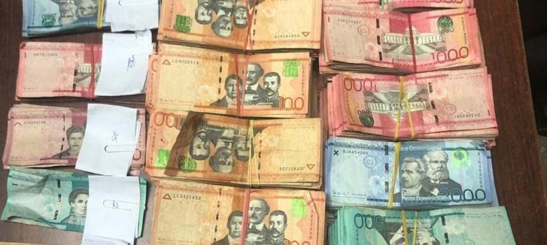dinero robado