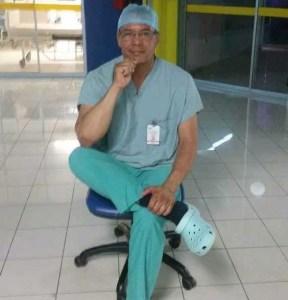 Muere el cirujano Miguel Ángel Santos