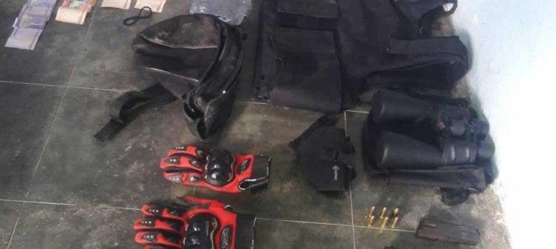 PN ocupa armas, drogas y dinero en Sajoma