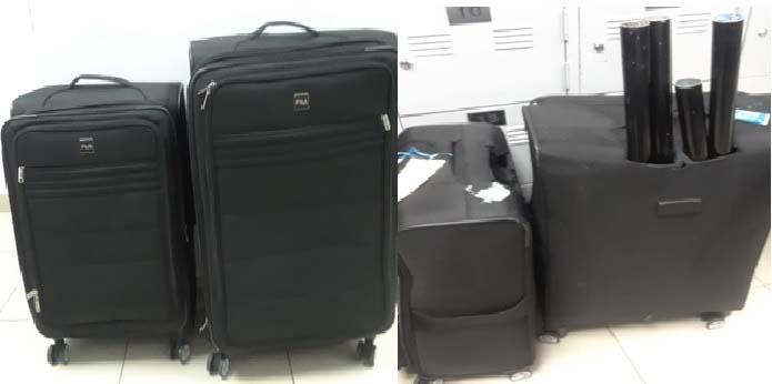 maletas cocaina