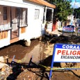 Viviendas afectadas por explosión tubería Coraasan en Bella Vista
