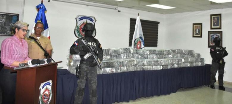 DNCD se incauta de 500 kilos de cocaína en SPM