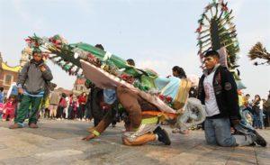 Este 12 de diciembre se conmemoró la aparición de la virgen al indígena Juan Diego hace 487 años atrás.