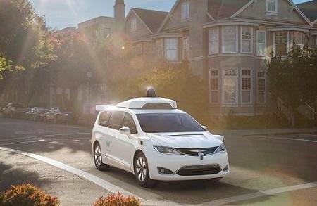 Waymo carro autónomo de Google - El Sol Latino