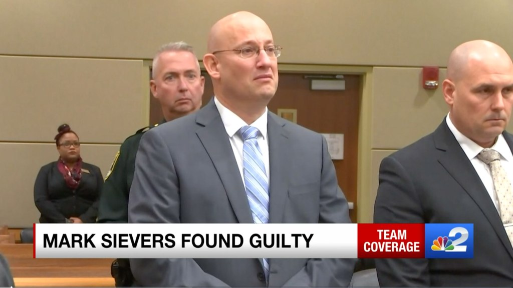 Mark Sievers fue condenado a la pena capital por el asesinato de su esposa Teresa. Foto cortesía