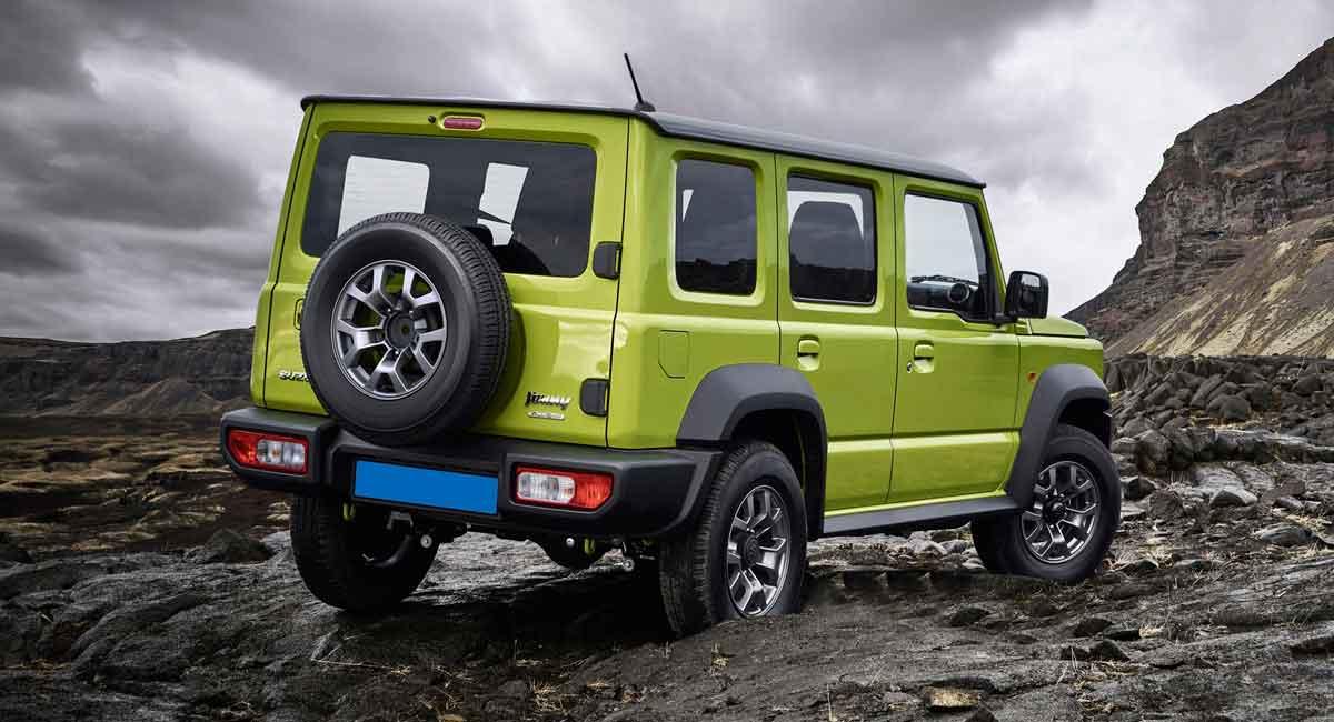 Suzuki Jimny five doors - El Sol Latino