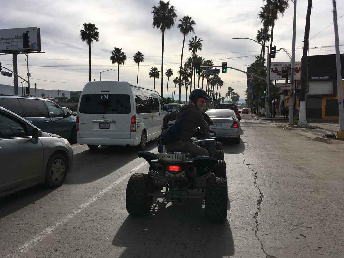 Dirt bike and ATV - El Sol Latino