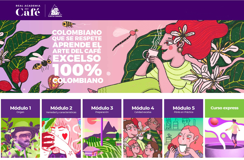 Real Academia del Café - El Sol Latino