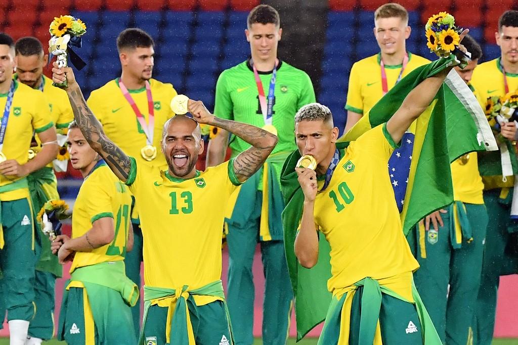 Selección Sub-23 (Fútbol). Foto AFP