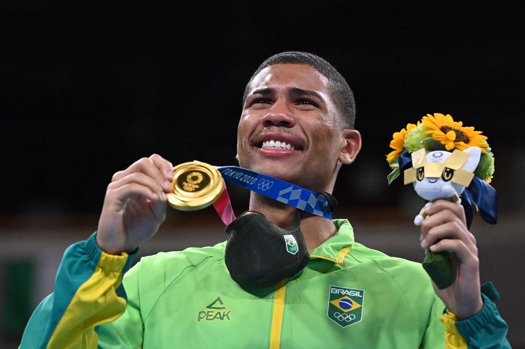Hebert Conceição (Boxeo). Foto AFP